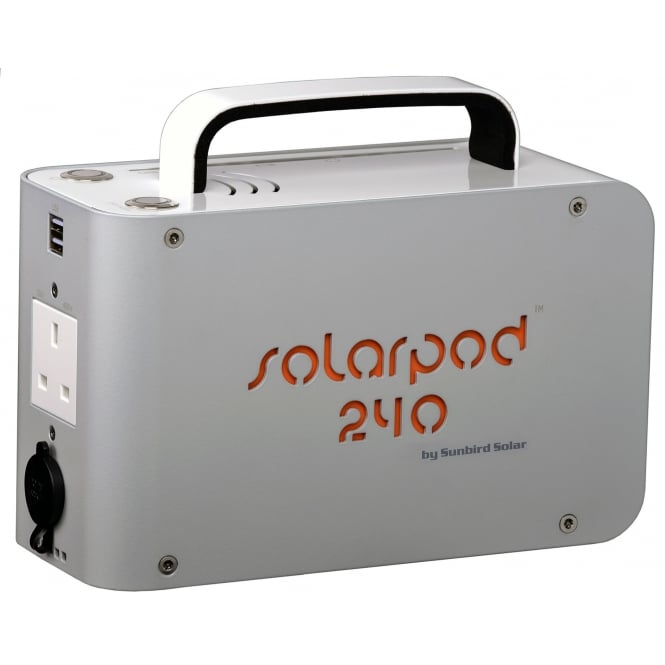 Solarpod™ 240 Hybrid Solar Power Station