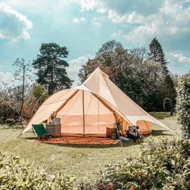 Boutique Camping Star Bell Tent - Oxford