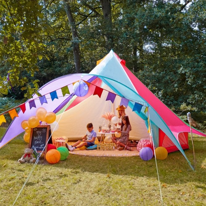 Star Bell Tent - Oxford Ultralite 100gsm - Rainbow