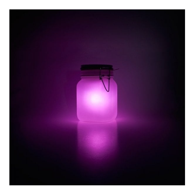 Sun Jar LED Night Light - Pink