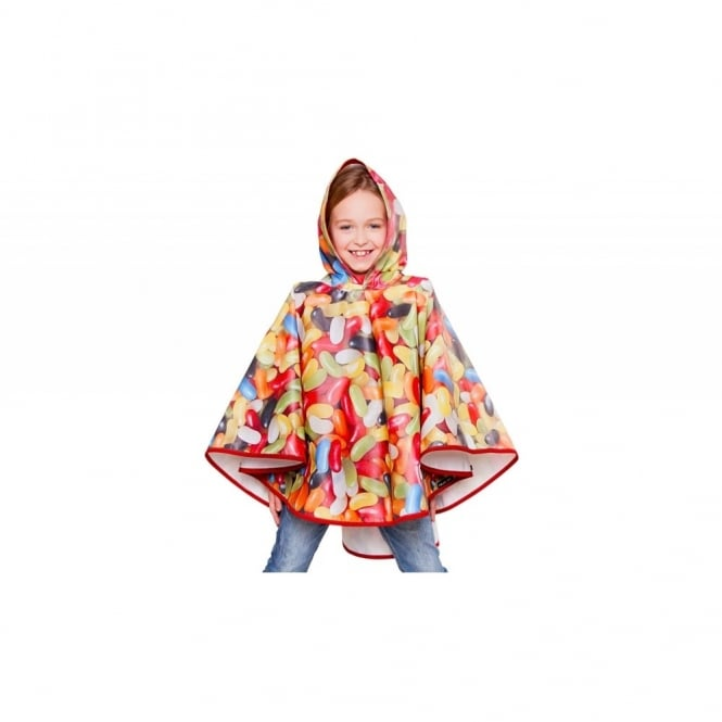 Sweet Dreams Jelly Bean Kids Poncho