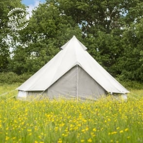 The Oxford Bell Tent 5m - Grey & Bell Tents Luxury Family Tents u0026 Glamping Products