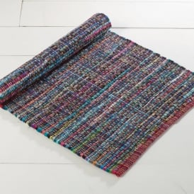 Traditional Indian Rag Rug - Tango