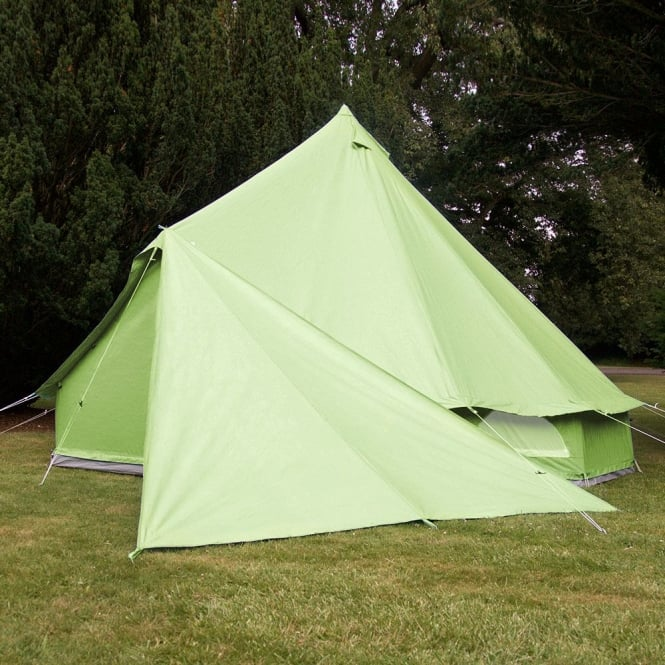 Triangle Tarp for Bell Tent - Apple Green
