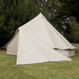 Bell Tent Triangle Tarp - Universal