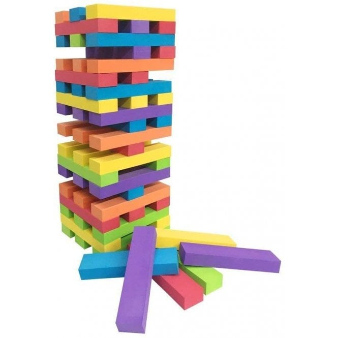 Tumble Tower 60 PCs Garden Outdoor Game