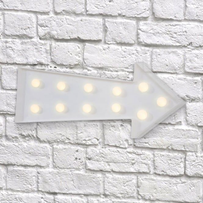Vegas L.E.D. Plastic Fun Light - Arrow White