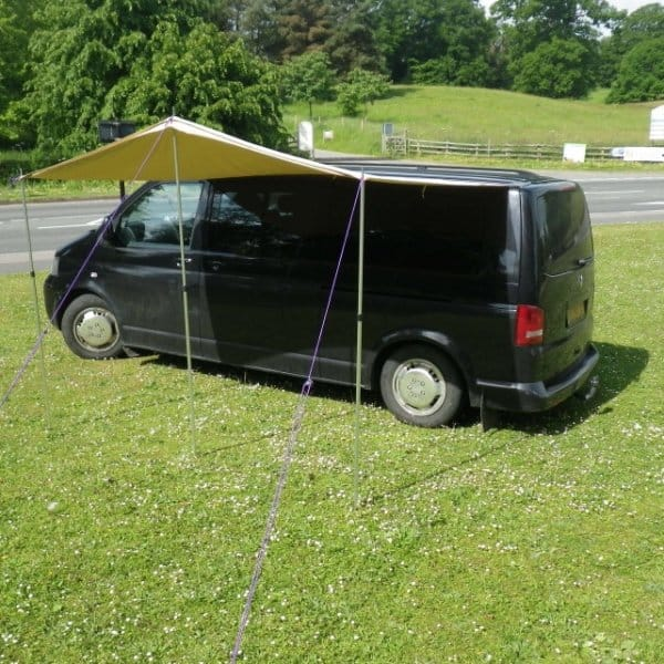 VW T5 Canopy Awning And Rail