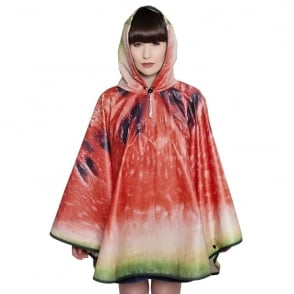 FieldCandy What a Melon Watermelon Design Poncho