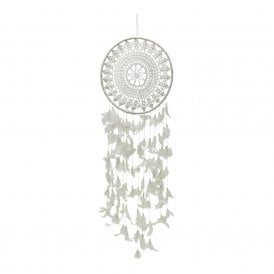 White Boutique Dreamcatcher