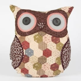 Tweedmill William Owl Cushion