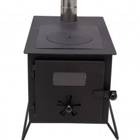 Woodburning Stove (Full Kit inc flashing kit and heat mat)