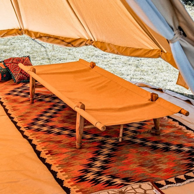 Wooden Camp Bed