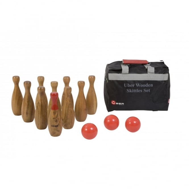 Wooden Skittles Set Products From Boutique Camping Uk